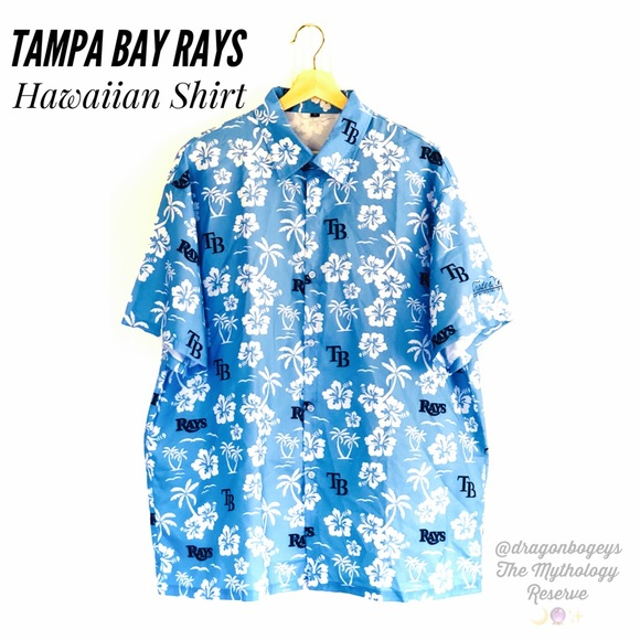 1df1ed10b Shirts   Mens Tampa Bay Rays Hawaiian Shirt   Poshmark